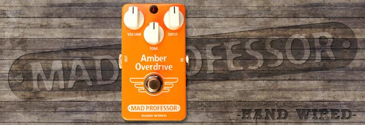 MP Amber Overdrive Hand Wired