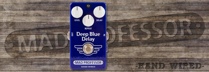 MP Deep Blue Delay Hand Wired