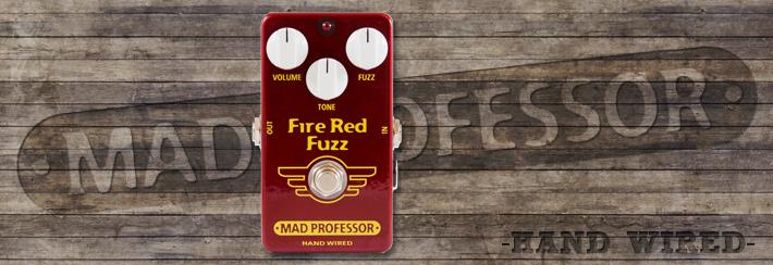 MP Fire Red Fuzz Hand Wired