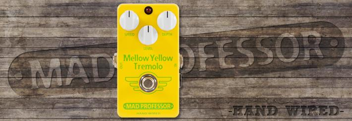 MP Mellow Yellow Tremolo Hand Wired