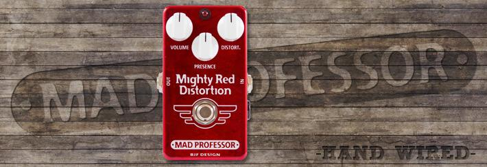 MP Mighty Red Distortion Hand Wired