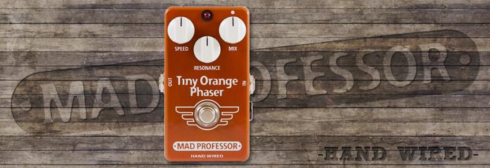 MP Tiny Orange Phaser Hand Wired