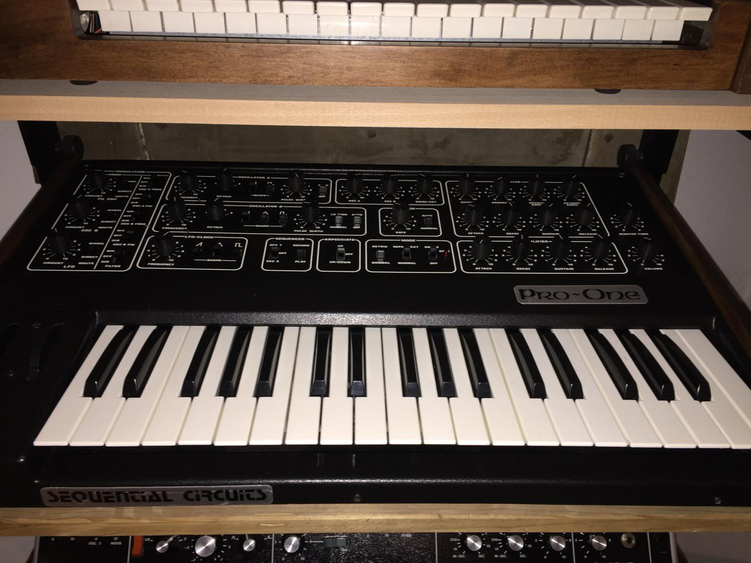 Sequential Circuits Pro One S.Nr. 0315